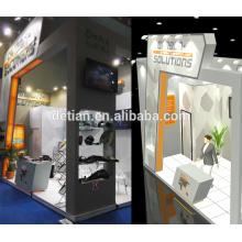 Design de Xangai e construir comércio expo estandes, show de feiras modular sistema de stands