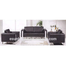KS3109 Sofás de mobiliário de móveis contemporâneos sofás de pernas de aço inoxidável
