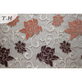 Flower Polyester Chenille Pattern Sofa Fabric (fth31951)