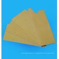 Tubo / lámina de epoxy 3240 de fibra de vidrio amarilla