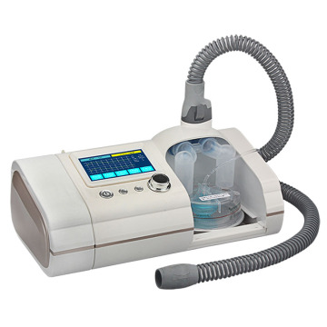 Ventilador não invasivo de alta eficiência para cuidados de saúde