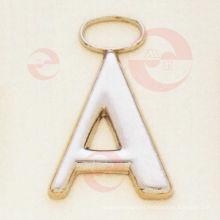 """Letra- """"A"""" Tirador de cremallera / Control deslizante para accesorios de bolsa (G8-159A)"""