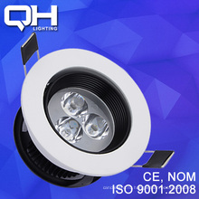 Новая модель 3W Светодиодные пятно света алюминия