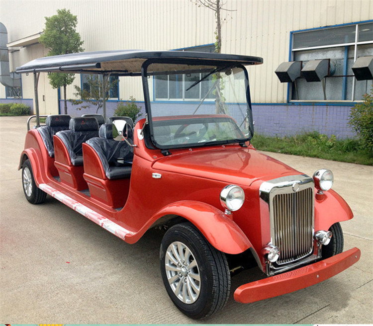 6 Seats gas powered Classic golf car for sale