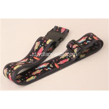 Customized Logo Adjustable Travel Luggage Strap