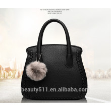 Wholesale new hot selling handbag fashional cheap shoulder makeup bags genuine leather PU tote bag HB07