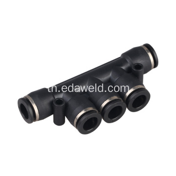 PK ข้อต่อ Pneumatic Quick Connector