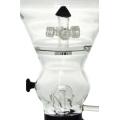 4 pommes de douche en cristal Bouchon d'eau en verre pour le tabagisme (ES-GB-435)