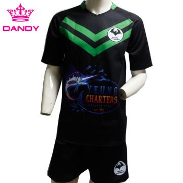 Camisa de rúgbi de vários estilos masculina mais recente