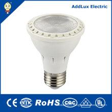 Lampe blanche fraîche de PAR de 220V GS E26 8W SMD LED PAR