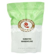 Bolsa de café de café de grano entero / bolsa de plástico de café