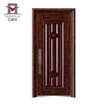 modelo único de bajo precio de seguridad para el hogar puerta de hierro