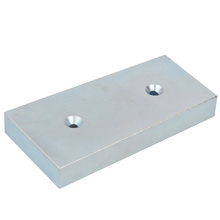Powerful Rare Earth Magnet with Two Holes