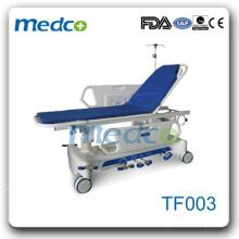 Medco luxuriöser manueller Patiententransport Stretcher Notfallstretcher Patienten Notfallwagen TF003