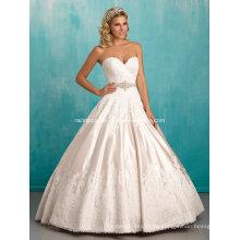 Vintage vestido de novia vestido de novia de la boda