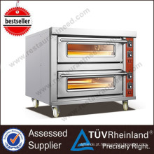 2017 Shinelong High-Quality 2-Trays Forno elétrico para restaurante
