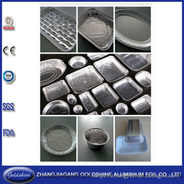 Алюминиевая фольга пищевых контейнеров