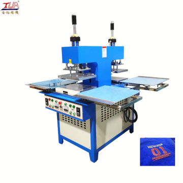 Logo Pakaian Silicone Garment Embossed Machine