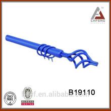 B19110 торцевая заглушка для занавеса карнизов и аксессуар для карниза стержень из кованого железа