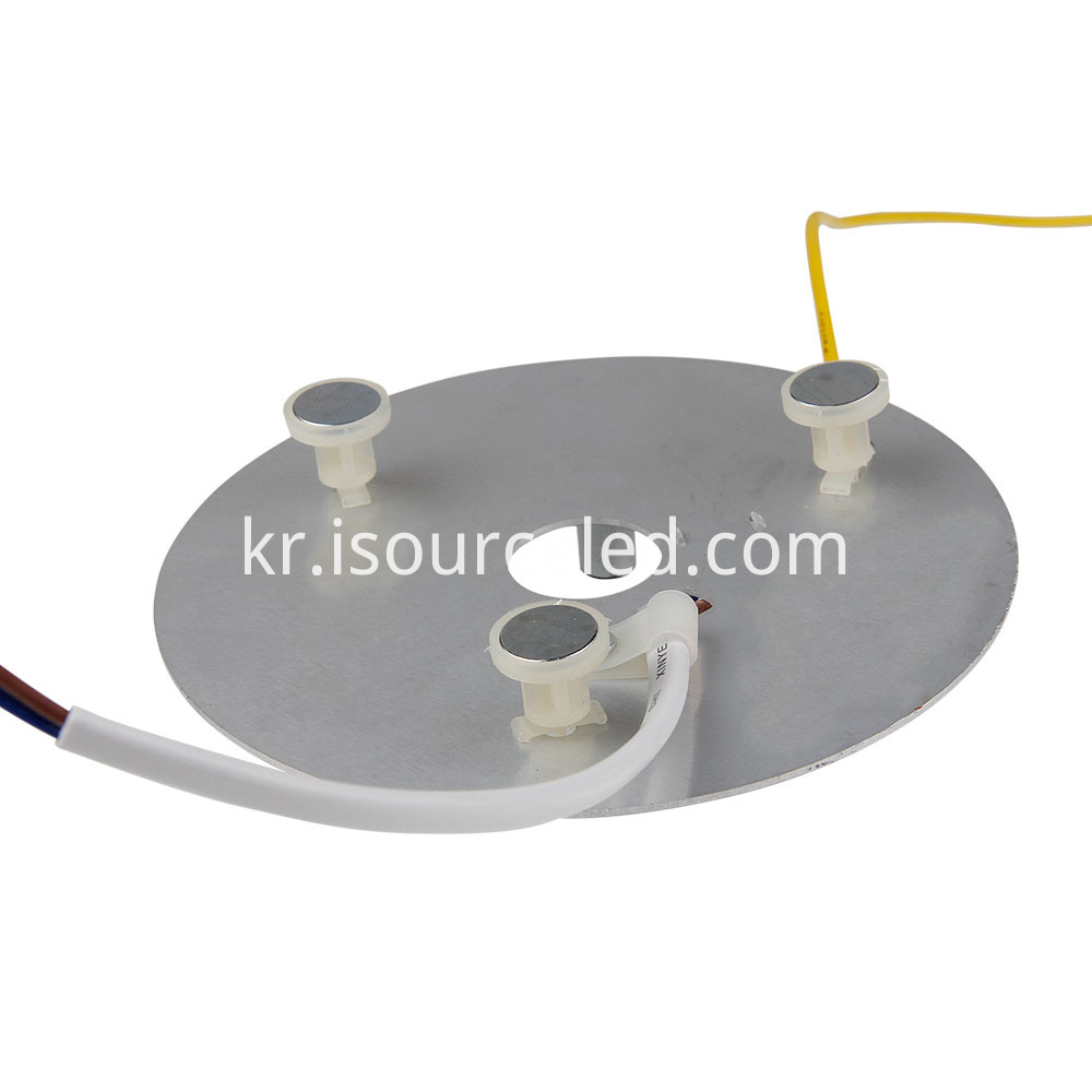 The bottom of the 9W led light module