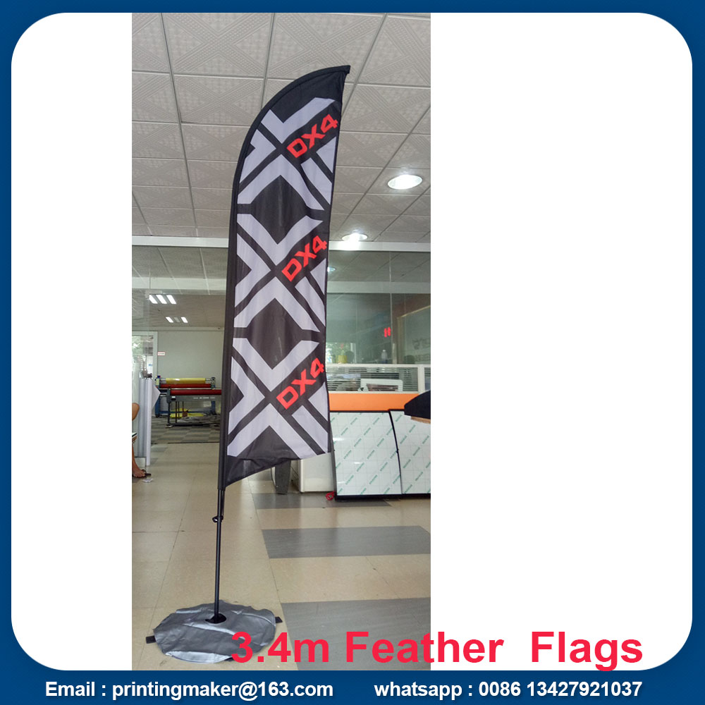 2.8 m feather flags