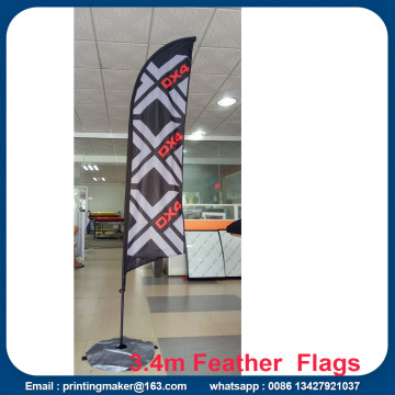 Banner Iklan Khas Feather Bendera Bendera