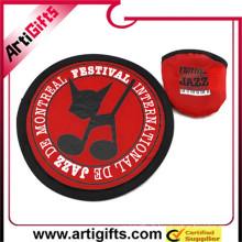 Fabriqué en Chine usine bon marché aerobie frisbeebest frisbee plis frisbee