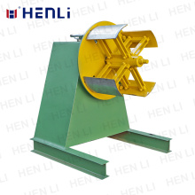 Strip  Coil Unwinding Machine Sent To The Line For Processing