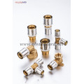 Brass Press Pex Fittings Without Plated