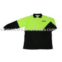 Hohe Sichtbarkeit reflektierende Sicherheit Langarm Polo-Shirt