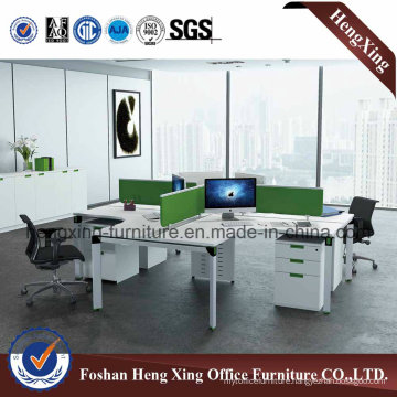 New Style Office Furniture Workstation with Metal Legs Partition Screen (HX-NJ5042)