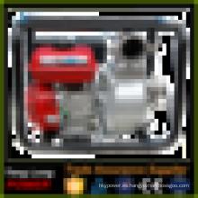 Máquina de 3 pulgadas Electri fuego gasolina motor bomba de agua conjunto de bombeo