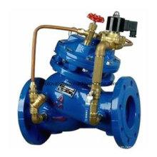 Soupape de commande d'eau à distance électrique de type de diaphragme de J145X / H108X
