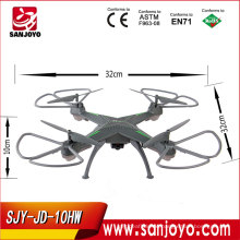 New Arrival! SJY-JD-10HW 6 Axis Gyro Quadcopter Helicopter Toys On Electrical UFO Set Hight 360 Eversion Quadcopter