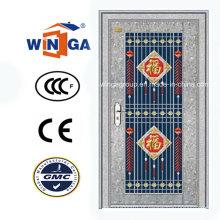 Exterior usando porta de vidro de segurança de aço inoxidável (W-GH-20)