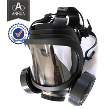 Military Full Face Gas Mask with Two Canisters