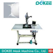 Máquina de soldadura de bucle de oreja con máscara de copa N95