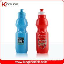 Garrafa de água de plástico, garrafa de plástico de esporte, garrafa de água de esportes de 700 ml (KL-6613)