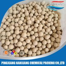 Tamiz molecular Zeolite 3A para pureza de alcohol 99,9%