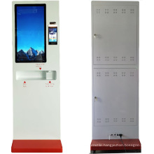 Face Recognition and Temperature Kiosk Automated Hand Sanitizer