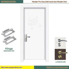 Puerta de madera china que pivota la puerta de madera dentro de la puerta de madera