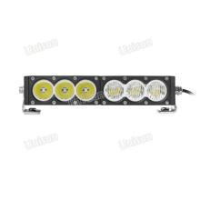 """11 """"60W de linha única LED fora da estrada 4X4 Light Bar"""