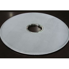 Disco de filtro de metal poroso sinterizado de aço inoxidável 316L