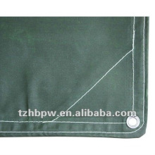Reinforced Waxed Fabric PVC Tarpaulin