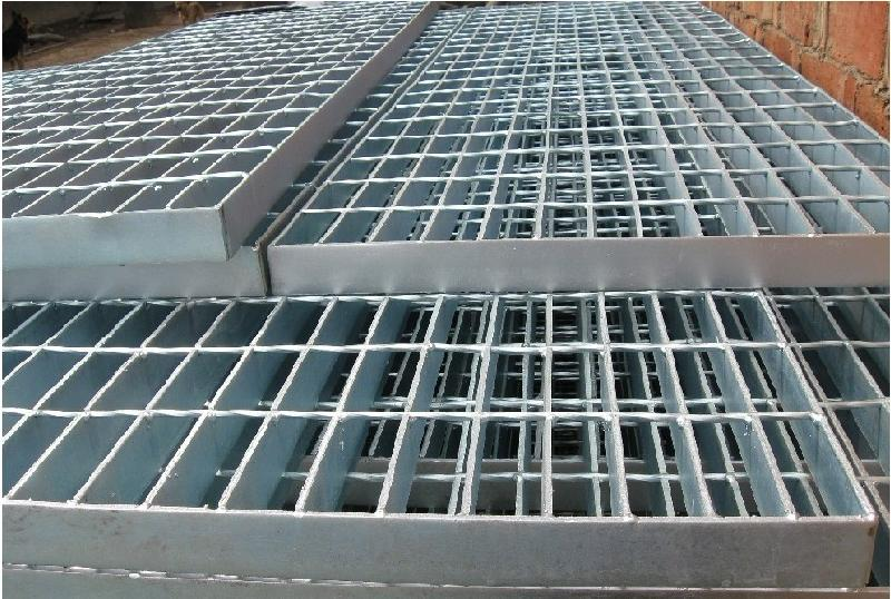 China Hot Dip Galvanized Steel Grating Processing