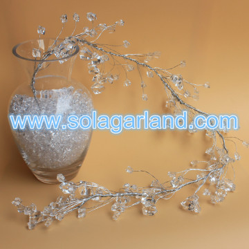 Acrylic Crystal Stone Beaded Branch Wedding Decor