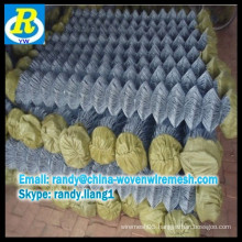 Hot Dipped Galvanized Chain Link Fence /1 inch chain link fence