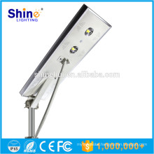 High-quality PIR sensor integrated solar street light all in one 80w