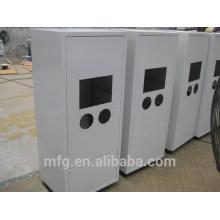 Gabinete de control eléctrico PLC / Caja y caja de chapa