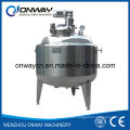 Pl Stainless Steel Jacket Emulsification Mixing Tank Mixing Bowl with Agitator